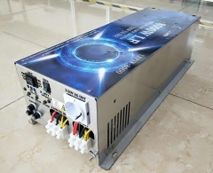 LF 8000W Pure Sine Wave Power Inverter DC 12V to AC 220V/230V/240V, with Battery Charger Function